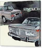 Bmw 2000 Canvas Print