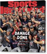 Boston Red Sox, 2018 World Series Champions Sports Illustrated Cover Canvas Print