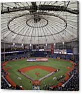 Boston Red Sox V Tampa Bay Rays Canvas Print
