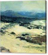 Carmel Shore 1919  Canvas Print