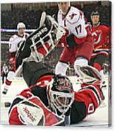 Carolina Hurricanes V New Jersey Devils Canvas Print