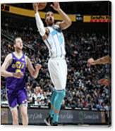 Charlotte Hornets V Utah Jazz Canvas Print