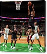 Chicago Bulls V Boston Celtics - Game Canvas Print