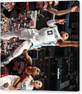 Chicago Bulls V Charlotte Hornets Canvas Print