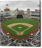 Chicago Cubs V San Diego Padres Canvas Print