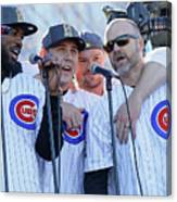 Chicago Cubs Victory Celebration Canvas Print