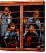 Children Of Nepal - Series Canvas Print