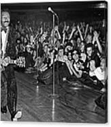 Chuck Berry In Concert At The Palladium Canvas Print