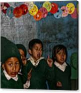 Classroom Song Canvas Print