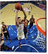 Cleveland Cavaliers V Philadelphia 76ers Canvas Print