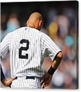 Cleveland Indians V New York Yankees 1 Canvas Print