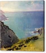 Cornish Headlands  Canvas Print