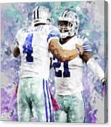 Dallas Cowboys. Canvas Print