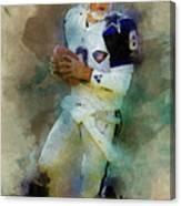 Dallas Cowboys.troy Kenneth Aikman Canvas Print