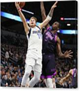 Dallas Mavericks V Minnesota Canvas Print