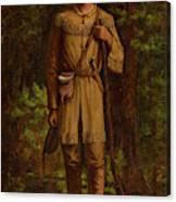 Davy Crockett Canvas Print