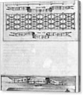 Description Of The Ark, 1675. Artist Canvas Print