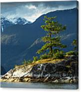 Desolation Sound, Bc, Canada Canvas Print