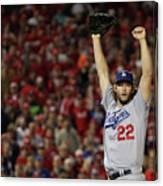 Division Series - Los Angeles Dodgers V 1 Canvas Print