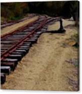 Ellsworth Tracks  Canvas Print