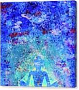 Enlightenment Blue Canvas Print