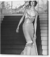 Evening Dress Designed By A California D Canvas Print