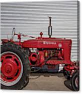 Farmall M And Steel Canvas Print