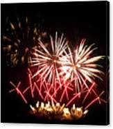 Firework Display Canvas Print