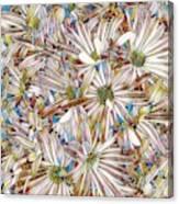 Floral Art Canvas Print