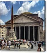 Fontana Del Pantheon Canvas Print
