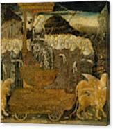 Goddess Of Chaste Love  Canvas Print
