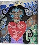 Goddess Of Wonder Canvas Print