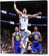 Golden State Warriors V Philadelphia Canvas Print