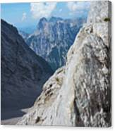 Grey Mountains Canvas Print