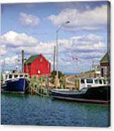 Hall's Harbour 01 Canvas Print
