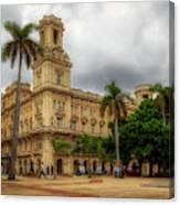 Havana's Palacio Del Centro Asturiano Canvas Print