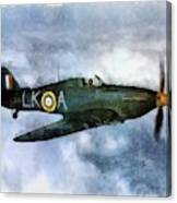 Hawker Hurricane, Wwii Canvas Print