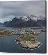Henningsvaer Lofoten Canvas Print