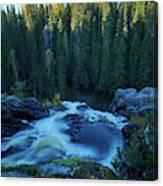 Hepokongas Waterfall Canvas Print