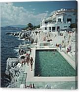Hotel Du Cap Eden-roc Canvas Print