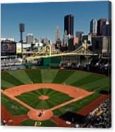 Houston Astros V Pittsburgh Pirates Canvas Print
