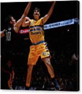 Houston Rockets V Denver Nuggets Canvas Print