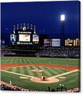 Indians V White Sox Canvas Print