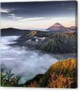 Indonesia Mount Bromo Canvas Print