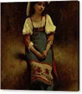 Italian Woman Canvas Print