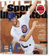 Its Year 1 A.c. after Cubs, 2017 Mlb Baseball Preview Issue Sports Illustrated Cover Canvas Print