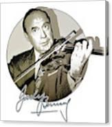 Jack Benny Canvas Print
