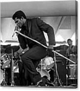 James Brown At Newport Jazz Festival Canvas Print