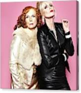 Jennifer Saunders /& Joanna Lumley Poster Picture Photo Print