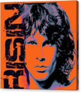 Jim Morrison, The Doors Canvas Print